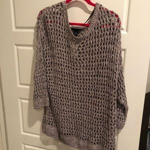 NWT Lane Bryant brown sparkle sweater 26/28